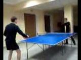 наши мальчики играют в теннис))))