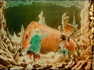 ����������� �� ���� (������� ������) / Le Voyage dans la Lune / Trip to the Moon / 1902